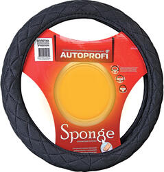 Оплетка на руль AUTOPROFI SP-9020 черный