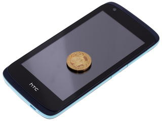 "4.5"" Смартфон HTC Desire 326G DS 8 ГБ голубой"