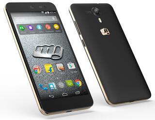 """5"""" Смартфон Micromax Canvas XPress 2 E313 8 Гб черный"""