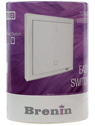 Настенный выключатель Brenin SW-01W Easy Switch белый