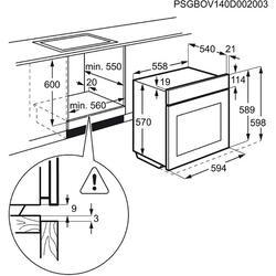 Электрический духовой шкаф Electrolux EZC52430AX