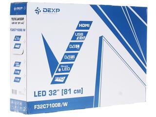 "32"" (81 см)  LED-телевизор DEXP F32C7100B/W белый"