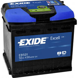 Автомобильный аккумулятор EXIDE EXCELL EB501