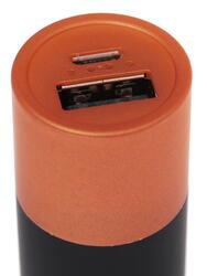 Портативный аккумулятор Qumo PowerCelll золотистый, черный