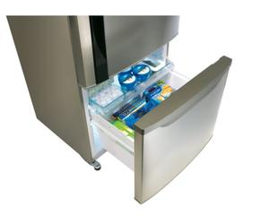 Холодильник с морозильником Panasonic NR-BW465VCRU бежевый