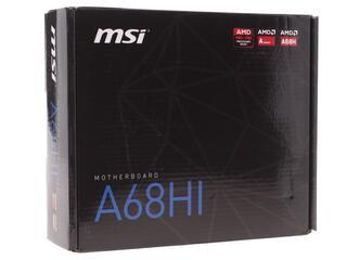 Материнская плата MSI A68HI