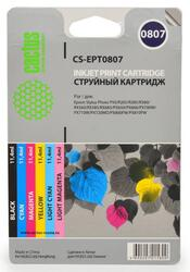Набор картриджей Cactus CS-R-EPT0807