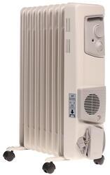 Масляный радиатор EWT OR120TLG белый