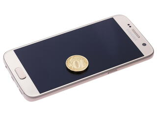 "5.1"" Смартфон Samsung SM-G930F Galaxy S7 32 Гб золотистый"