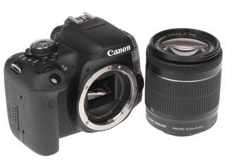 Зеркальная камера Canon EOS 750D kit 18-55mm IS STM + 50mm STM черный