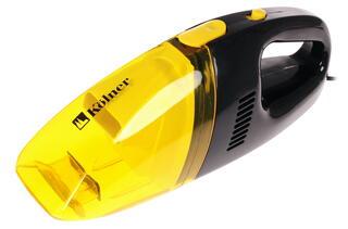 Автомобильный пылесос Kolner KAVC 12/60 желтый