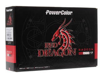 Видеокарта PowerColor AMD Radeon RX 470 Red Dragon [AXRX 470 4GBD5-3DHD/OC]
