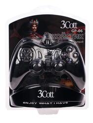 Геймпад 3Cott GP-06 черный