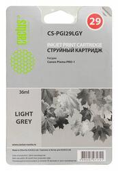 Картридж струйный Cactus CS-PGI29LGY