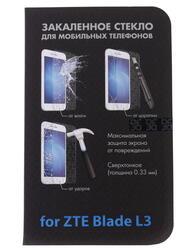 "5"" Защитное стекло для смартфона ZTE Blade L3"