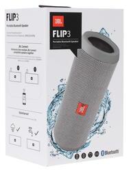Портативная колонка JBL Flip 3 серый