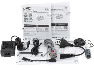 Видеокамера JVC GZ-R415 белый