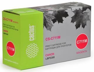 Картридж лазерный Cactus C711M