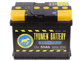 Автомобильный аккумулятор Tyumen Battery Standard 6СТ-55L
