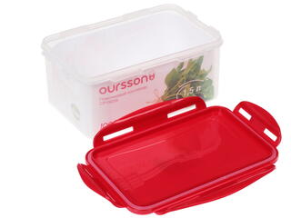 Контейнер пищевой Oursson CP1503S/RD
