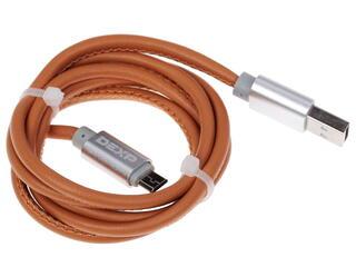 Кабель DEXP UMBrSI100SkM USB - micro USB коричневый