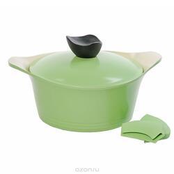 Кастрюля Frybest GRCY-C20 Ever Green зеленый