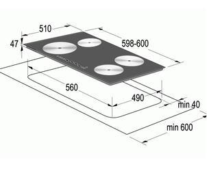 Электрическая варочная поверхность Gorenje IT 641 ORA