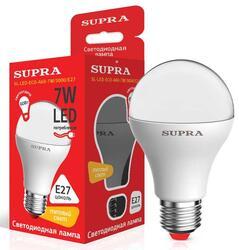 Лампа светодиодная Supra SL-LED-ECO-A60-7W/3000/E27