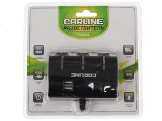 Разветвитель автоприкуривателя Carline CS-321