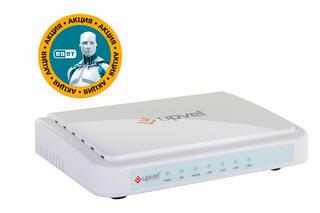 Маршрутизатор ADSL2+ UPVEL UR-104AN