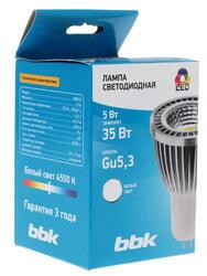 Лампа светодиодная BBK MB54C Gu5.3