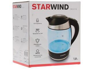 Электрочайник Starwind SKG2218 голубой