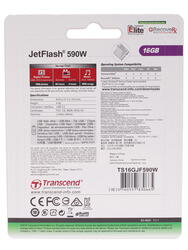 Память USB Flash Transcend JetFlash 590W 16 Гб