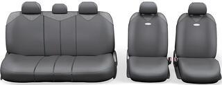 Авточехлы-майки AUTOPROFI R-1 SPORT PLUS Zippers R-902PZ серый