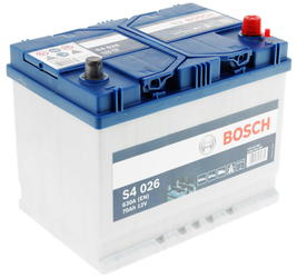Автомобильный аккумулятор Bosch S4 026