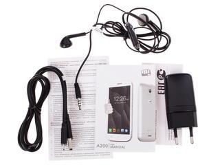 "4.7"" Смартфон Micromax Canvas A200 4 Гб черный"