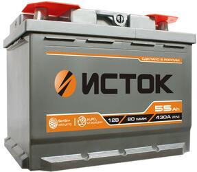 Автомобильный аккумулятор ISTOK 6ст-55 NR