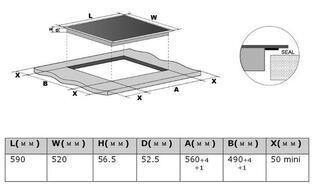 Электрическая варочная поверхность Midea MC-IF7021B2-WH