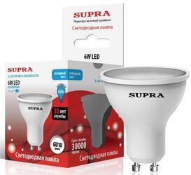 Лампа светодиодная Supra SL-LED-PR-MR16-6W/4000/GU10