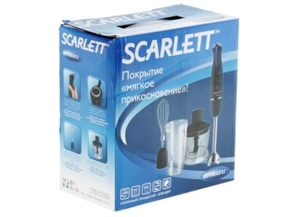 Блендер Scarlett SC-HB42F22 черный