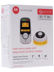 Радионяня Motorola MBP161Timer белый