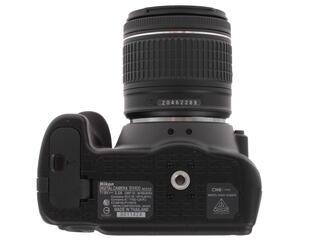Зеркальная камера Nikon D3400 Kit 18-55mm VR AF-P + 70-300mm VR черный