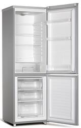 Холодильник с морозильником Hansa FK261.4X серебристый