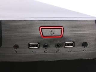Корпус AeroCool V3X Red Edition черный