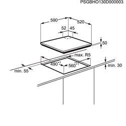 Комбинированная варочная поверхность Electrolux EGD6576NOK