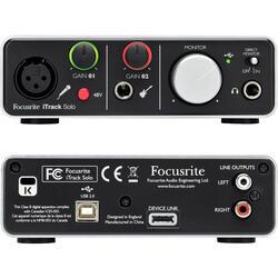 Комплект для звукозаписи FOCUSRITE iTrack Solo Studio