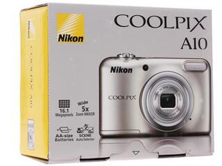 Компактная камера Nikon Coolpix A10 серебристый