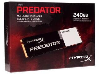 240 ГБ SSD M.2 накопитель Kingston HyperX Predator [SHPM2280P2/240G]