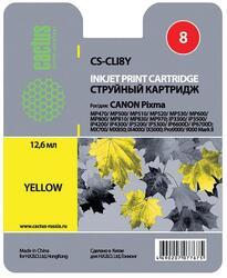 Картридж струйный Cactus CS-CLI8Y