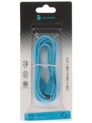 Кабель Solomon Nylon micro USB - USB